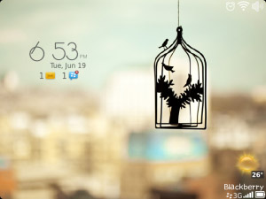 Nice Classic for blackberry 9220, 9310, 9320 os7 themes