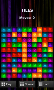 Tiles v1.0.1.1 for blackberry 10 games
