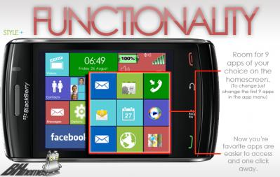 BH Windows 8 theme for blackberry storm 95xx os5 themes