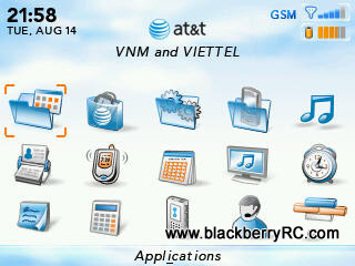 AT&T theme for blackberry 83xx,87xx,88xx themes os4.5