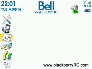 Bell theme for blackberry 83xx,87xx,88xx themes