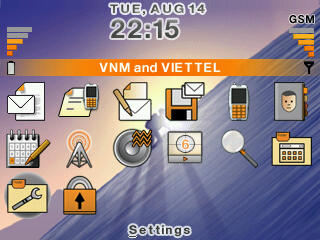 Orange theme for blackberry 83xx,87xx,88xx themes