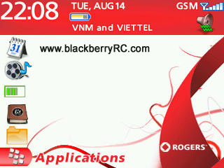 Rogers theme for blackberry 83xx,87xx,88xx themes
