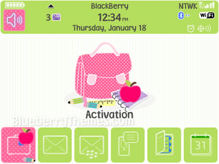 Back to School for blackberry 9000 bold themes