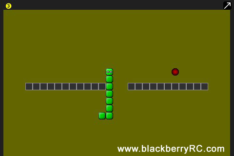 Snake v3.0.0 for blackberry os4.1-7.0 games