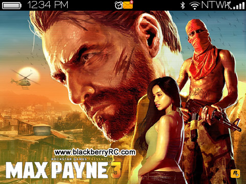 <b>Max Payne 3 for blackberry 9700, 9780, 9650 theme</b>