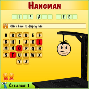 Hangman Challenge v1.0.1 for blackberry games