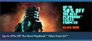 Best EA PlayBook Games Up to 50% Off Limited Time