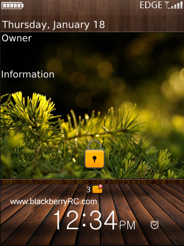 Warm color style theme - Gallery for bb storm 95XX