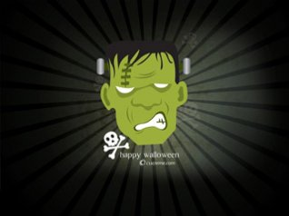 2012 Halloween Frankenstein 640x480 wallpaper