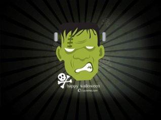 2012 Halloween Frankenstein 640x480 wallpaper