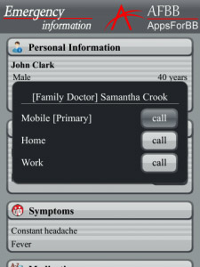 Emergency Information 1.6