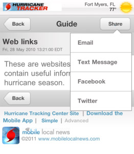 Hurricane Tracking Center v1.0