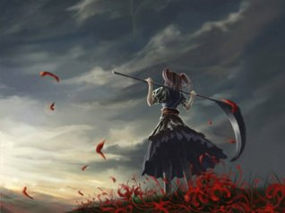 Girl With Scythe - blackberry curve 3g Wallpaper