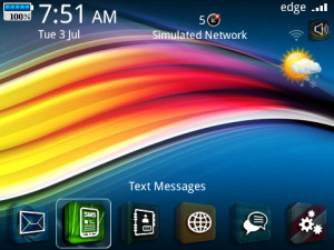 3D Icons Theme for blackberry 9900, 9930 themes