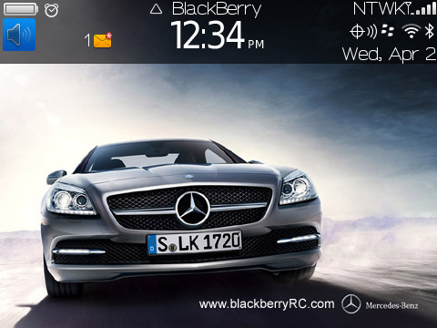 Mercedes-Benz SLK-class for bb 97xx,9650 themes