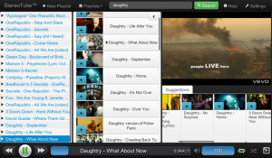 StereoTube v3.0 for YouTube+MP3 Music Player
