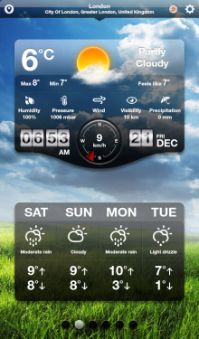 Weather+ HD v1.0 - World Weather Reports and Forecasts