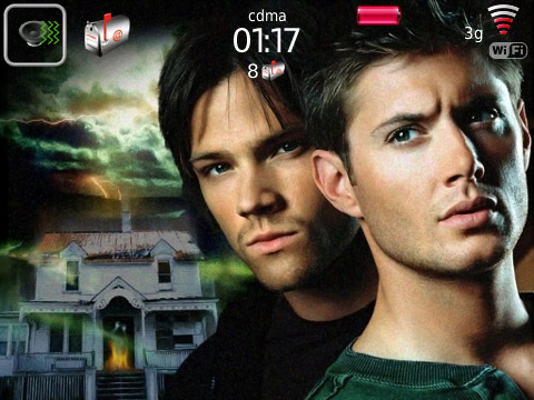 Supernatural for blackberry 89xx,96xx,9700 theme os5.0