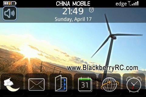 Windmill theme for blackberry bold 9000 themes
