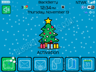 Blue Stars theme for BB 8520 curve theme os4.6