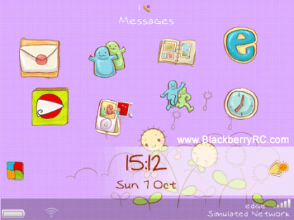 <b>Cute Sunny Day for blackberry 9350,9360,9370,9620</b>