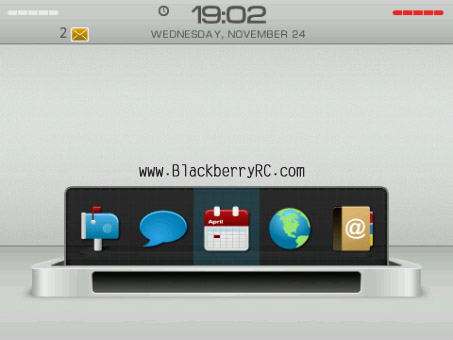 Liteon theme for blackberry 9000 os5.0 model