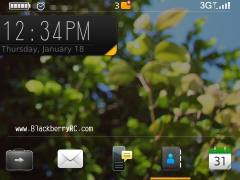 Hornet theme for blackberry 9630 os5.0 themes