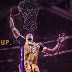 <b>LAKERS - RISE UP WALLPAPER</b>