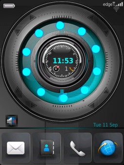 Circle HD Animation for bb 99xx themes
