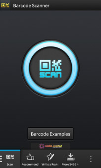 New update available for Barcode Scanner for BlackBerry 10
