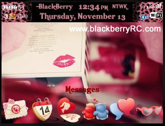 Kiss love for BB 85XX,93XX CURVE THEMES