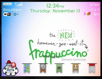 Starbuck theme for blackberry 85xx,93xx themes