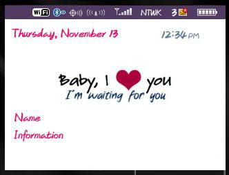 BABY, i love you for 85xx, 93xx curve themes