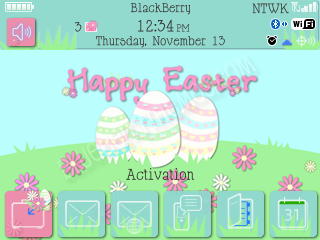 Happy Easter 2013 for bb 9700 themes os5.0