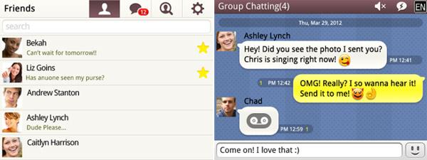 KakaoTalk Messenger 2.5.4 for bb os7.x apps - free ...