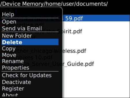 pdf viewer blackberry bold 9700 free