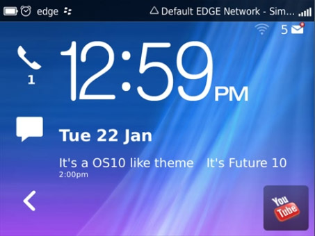 Future10 for 9650, 9700, 9780 blackberry themes
