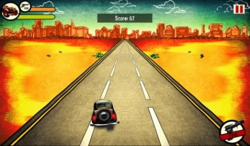 Retro Run: Car Racing 1.3 for playbook & BB10