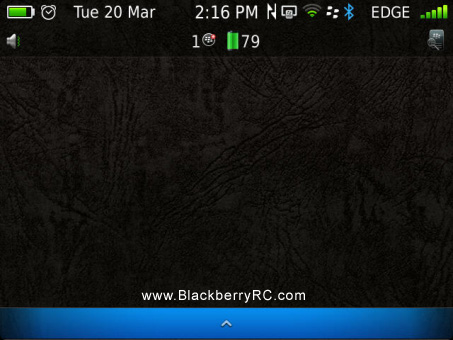 Seven Point Five for blackberry 99xx, p9981 themes