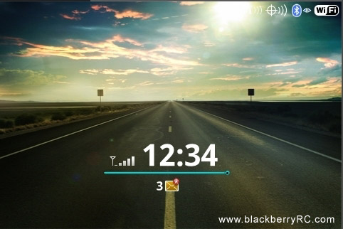 Loveyy theme for blackberry 9000 model