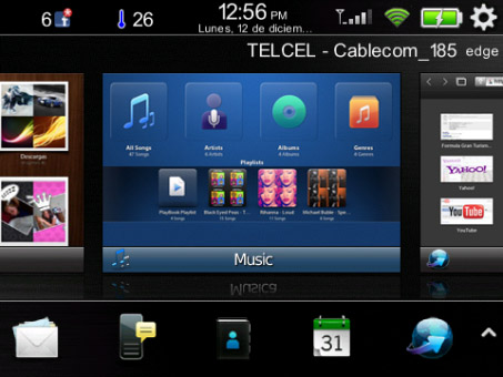 free BeBook Theme for blackberry 85xx, 93xx os5.0