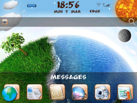 LovelyWorld for blackberry 9790 bold themes