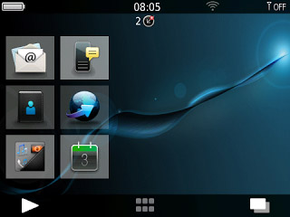 K-Evo10 Omega for BB 9100, 9670 themes