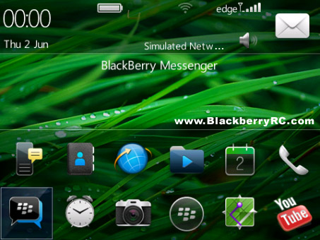 Ederra theme for blackberry 9650, 97xx themes