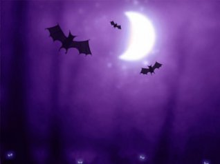Halloween Bats - blackberry 9800 wallpapers