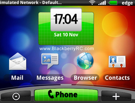 HTC Sense theme for bold 9780,9700,9650 os6.0