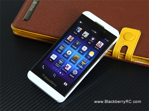 Blackberry Z10 built-in ringtones