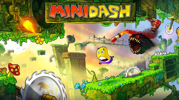 Mini Dash 1.0.0.77 for playbook Tablet games