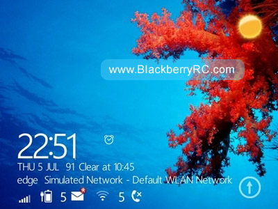 WindowsPhone 8 like for blackberry 99xx,P9981 themes